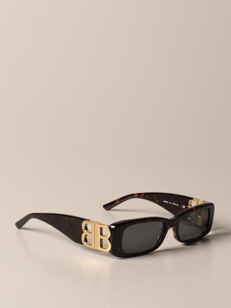 Balenciaga: Occhiali da sole balenciaga con monogramma bb