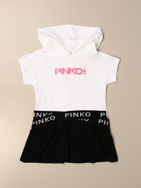 Abito con cappuccio Pinko con logo