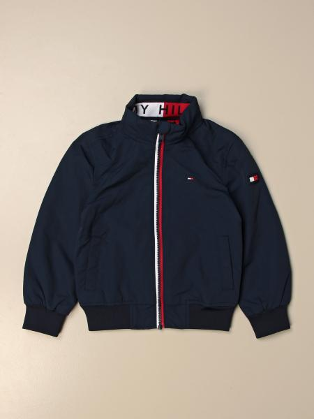 Giacca con zip Tommy Hilfiger in cotone
