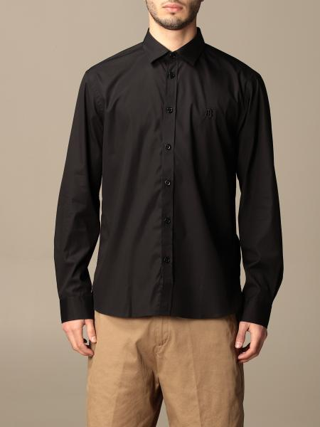 Burberry cotton shirt with TB monogram