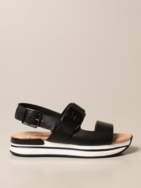 Hogan women: Heeled sandals women Hogan