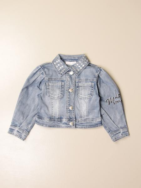Giacca di jeans Monnalisa con Paperina