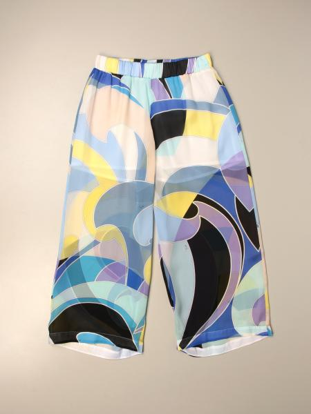 Emilio Pucci wide trousers with abstract pattern
