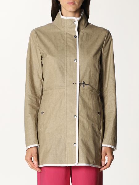 Fay women: Fay coat in viscose blend