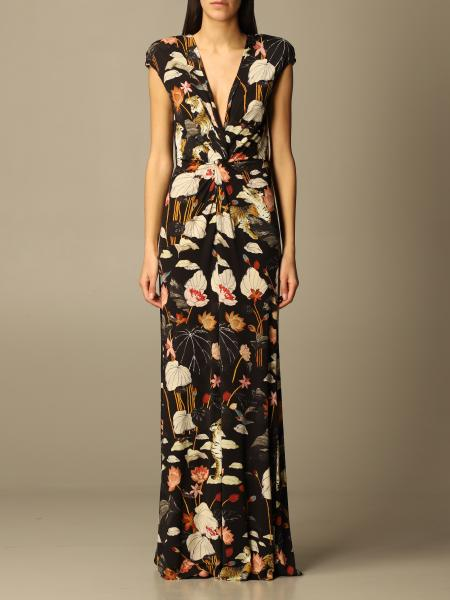 Etro women: Long Etro patterned dress