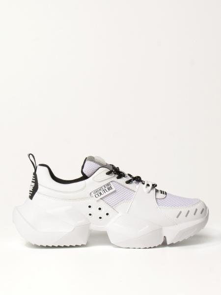 Sneakers Versace Jeans Couture in mesh e pelle