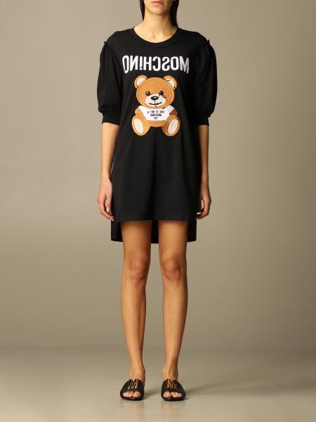 Moschino Couture dress with big teddy
