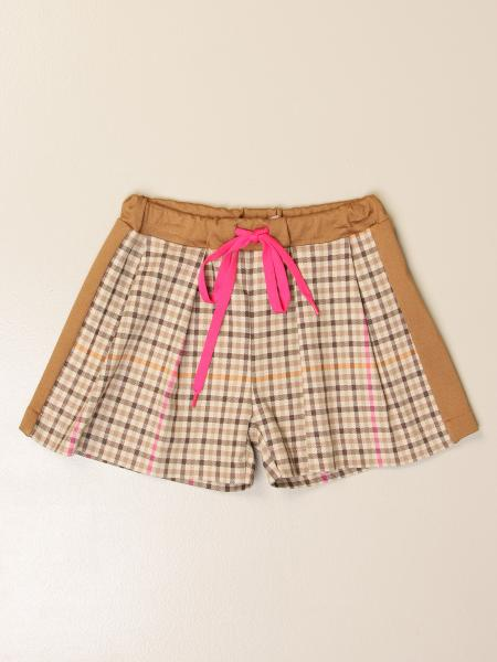 Pantalons courts enfant Miss Blumarine