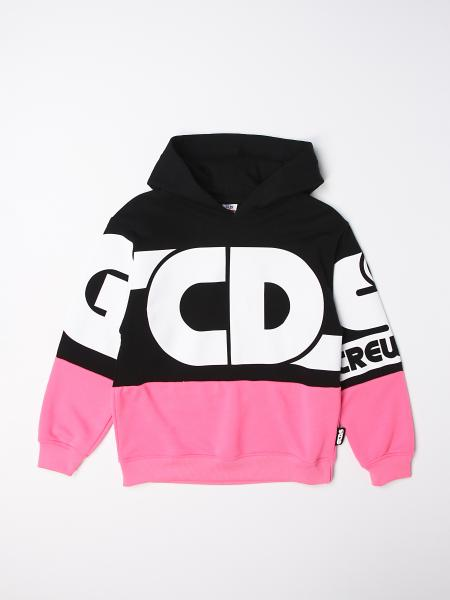 Gcds hoodie in cotton with logo