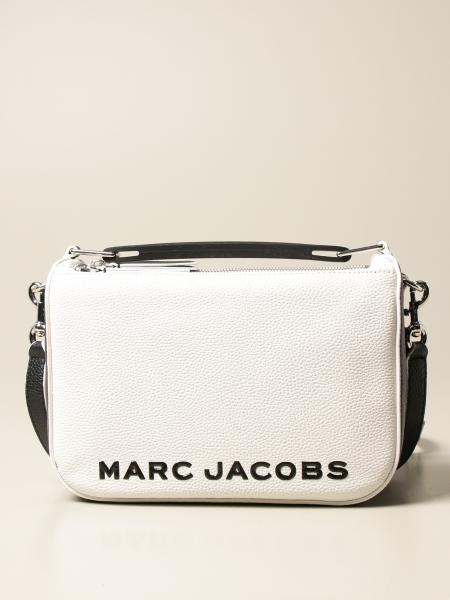 Marc Jacobs: Borsa The Colorblock Softbox Marc Jacobs in pelle martellata