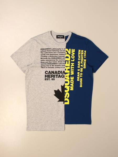 Dsquared2 Junior T-shirt with logo print