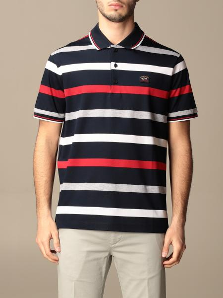 Paul & Shark: Paul & Shark striped cotton polo shirt