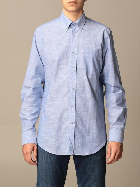 Paul & Shark: Paul & Shark shirt in cotton with button down collar