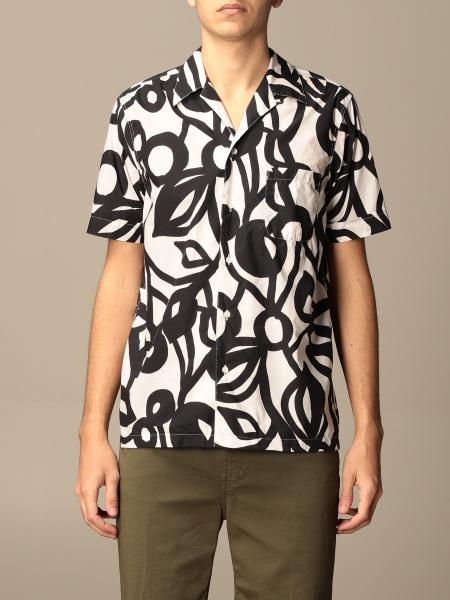 Camicia Aspesi in cotone stampata