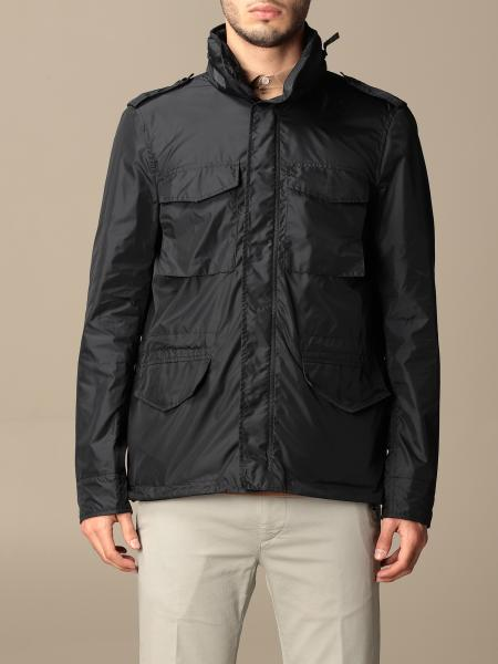 Aspesi zipped jacket with removable hood