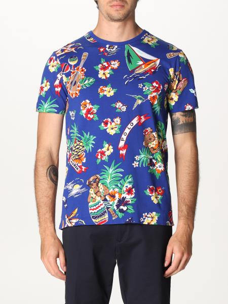Polo Ralph Lauren T-shirt with all over prints