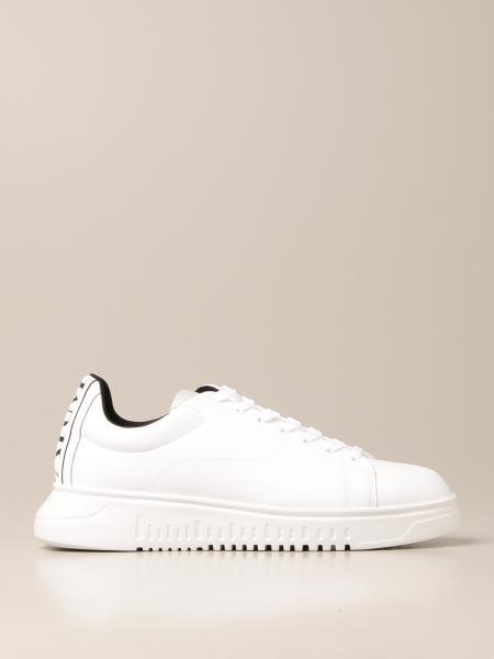 Emporio Armani: Sneakers Emporio Armani in pelle gommata
