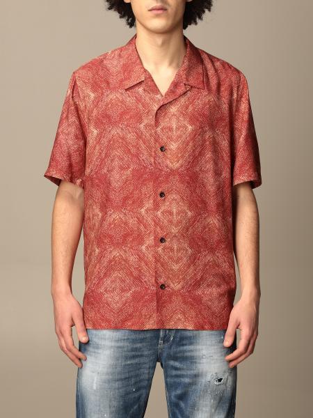Camicia Dondup in viscosa stampata