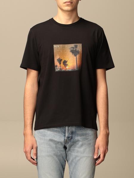 Saint Laurent: T-shirt homme Saint Laurent