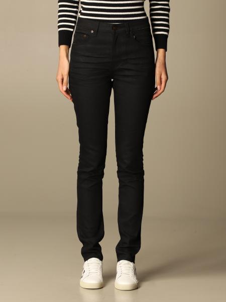 Jeans damen Saint Laurent