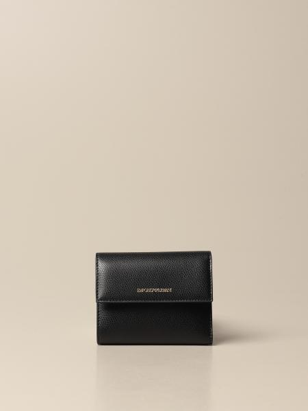 Emporio Armani wallet in synthetic leather