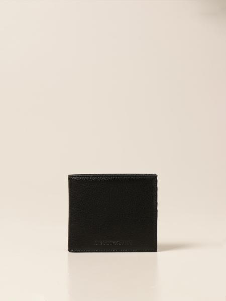 Emporio Armani wallet in textured leather