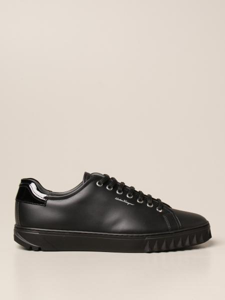 Salvatore Ferragamo Cube sneakers in leather