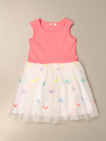 Billieblush: Billieblush dress with all over lettering
