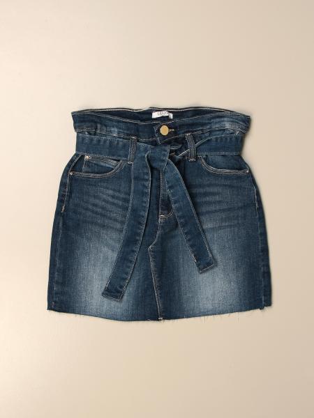 Liu Jo denim skirt with belt