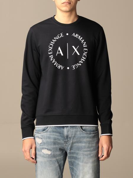Armani Exchange crewneck sweatshirt with logo