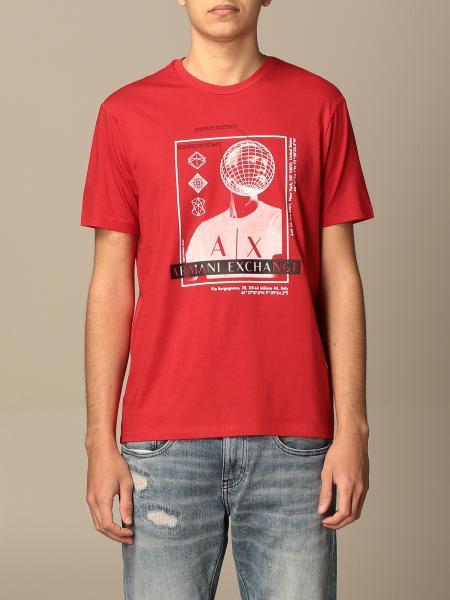 T-shirt Armani Exchange con stampa
