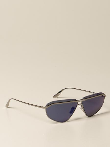 Balenciaga metal sunglasses with logo