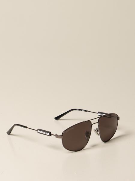 Balenciaga men: Balenciaga sunglasses with logo