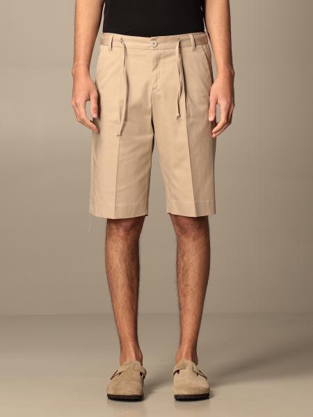 Alessandro Dell'acqua men: Alessandro Dell'acqua cotton shorts