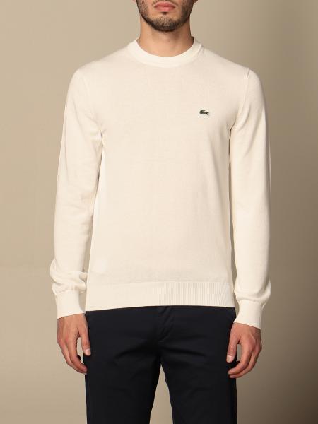 Lacoste crewneck sweater with mini logo