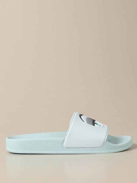Flache sandalen damen Chiara Ferragni