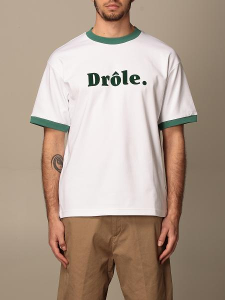 Drole De Monsieur: Drole De Monsieur cotton t-shirt with print