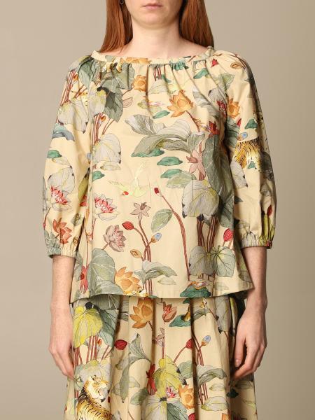 Etro women: Etro blouse in patterned cotton