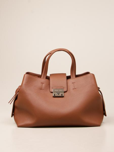 Emporio Armani women: Emporio Armani bag in textured synthetic leather