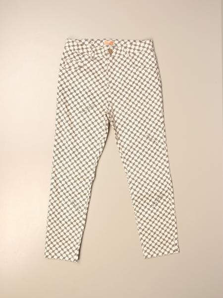 Elisabetta Franchi trousers with micro pattern