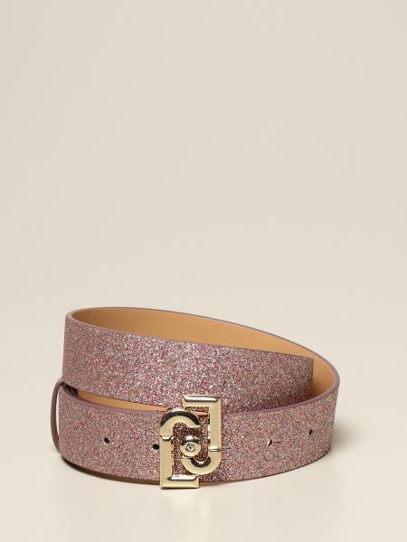 Cintura Liu Jo glitter con logo