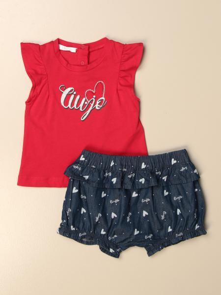 Liu Jo top + shorts with ladybug set