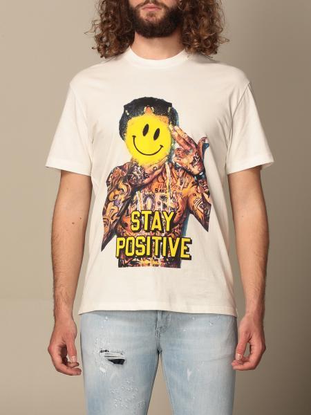 Ih Nom Uh Nit: T-shirt Ih Nom Uh Nit con stampa stay positive