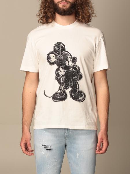 Ih Nom Uh Nit: T-shirt Ih Nom Uh Nit con stampa Topolino