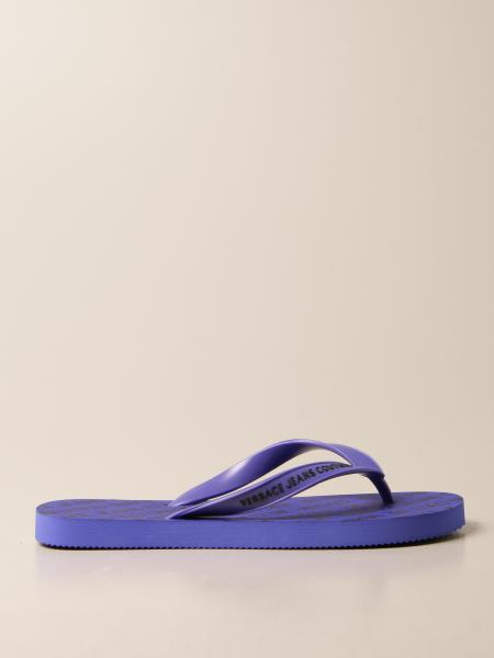 Versace Jeans Couture rubber thong sandal