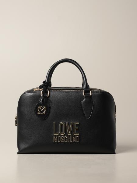 Borsa a mano Love Moschino in pelle sintetica con logo
