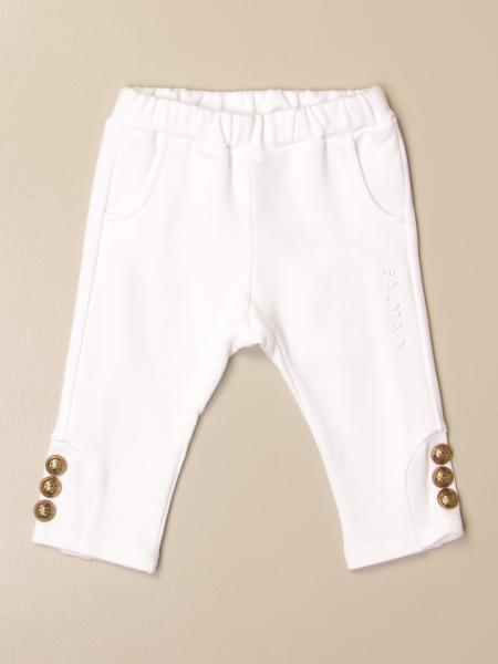 Balmain jogging trousers with metal buttons