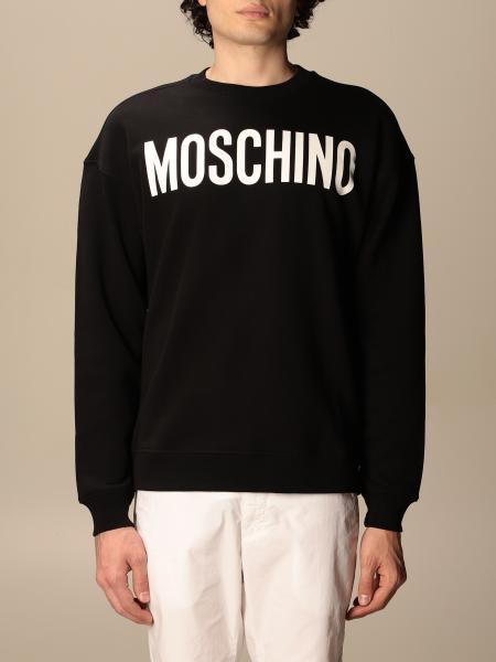Moschino Couture crewneck sweatshirt with logo