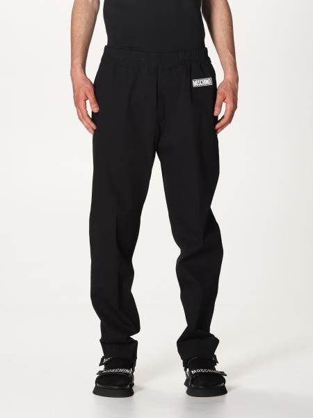 Pantalone jogging Moschino Couture con logo