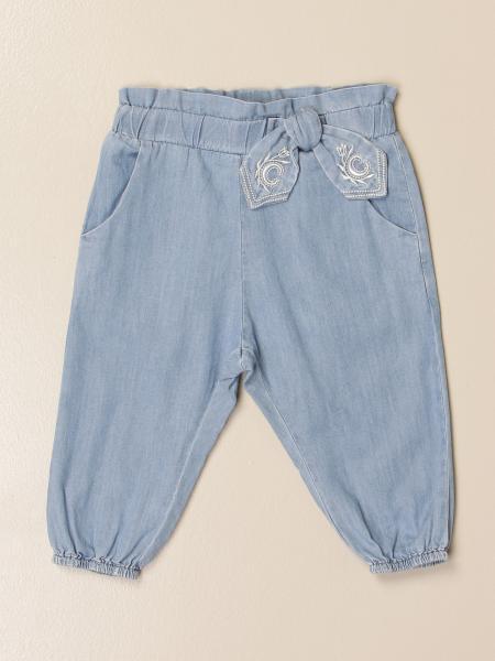 Chloé: Chloé jeans with bow
